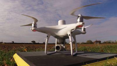Drone de mapeamento de baixa altitude Phantom 4 RTK é lançado pela DJI