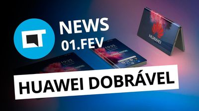 Celular dobrável da Huawei e Samsung; Qualcomm processa Apple e + [CT News]