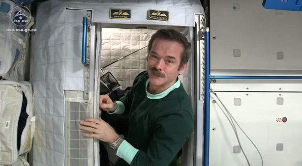 Dormir no espaço