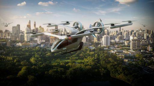 Embraer e Skyports já planejam pontos de pouso e decolagem para carros voadores