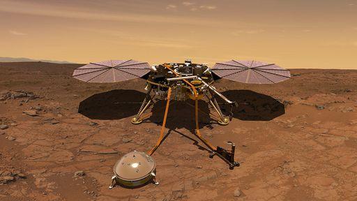 Sismômetro da sonda InSight revela detalhes da crosta, manto e núcleo de Marte