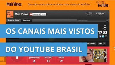 Conheça os 10 canais brasileiros com mais visualizações no YouTube