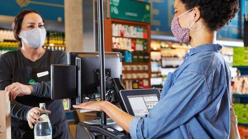 Amazon permite que clientes paguem com a palma da mão em sua rede de mercados