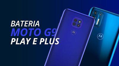 Teste de Bateria: Moto G9 Plus e G9 Play