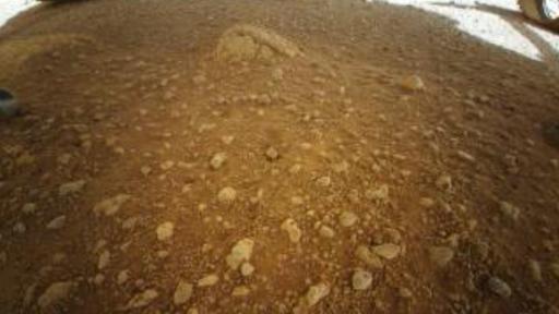 Veja a primeira foto colorida de Marte tirada pelo helicóptero Ingenuity