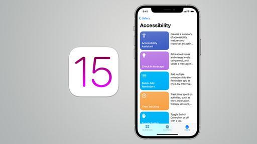 Apple revela os primeiros e inovadores recursos de acessibilidade do iOS 15