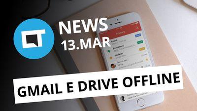 Taxa de conveniência na internet é ilegal; Gmail e Drive com problemas [CT News]