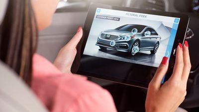Hyundai lança manual do proprietário em realidade aumentada