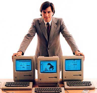 Steve e os Macintoshs