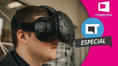Games em realidade virtual com o HTC Vive: nós experimentamos! [Hands-on   Computex 2016]