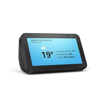 """Echo Show 5 - Smart Speaker com tela de 5,5"""" e Alexa [CUPOM DE 30% DE DESCONTO]"""