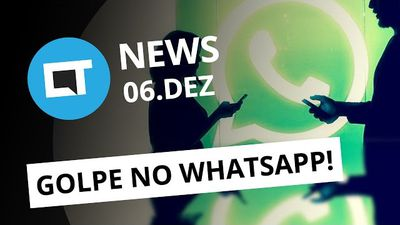 Golpe no WhatsApp, boatos sobre Galaxy S8 e LG G6, trends do Twitter e + [Canalt