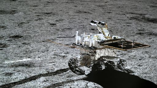 Rover chinês Yutu-2 bate recorde de operação na Lua após 11 meses de missão