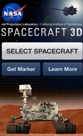 NASA Spacecraft 3D app