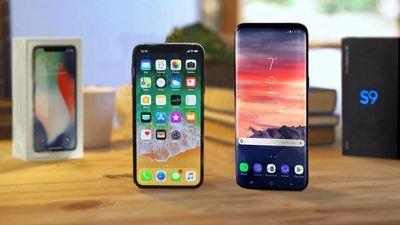 Teste de queda compara o grau de resistência do Galaxy S9 e do iPhone X