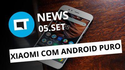 Xiaomi Mi A1 com Android Puro; Brasileiros descobrem novo planeta e+ [CT News]