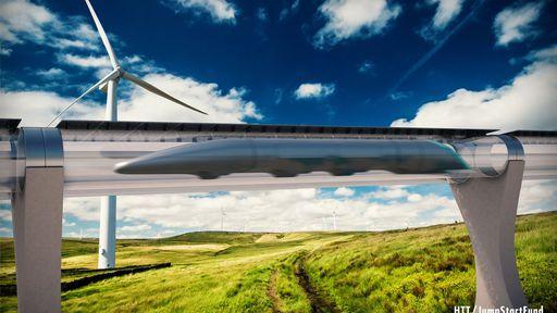 Elon Musk quer construir trens que ultrapassam os 1.000 km/h