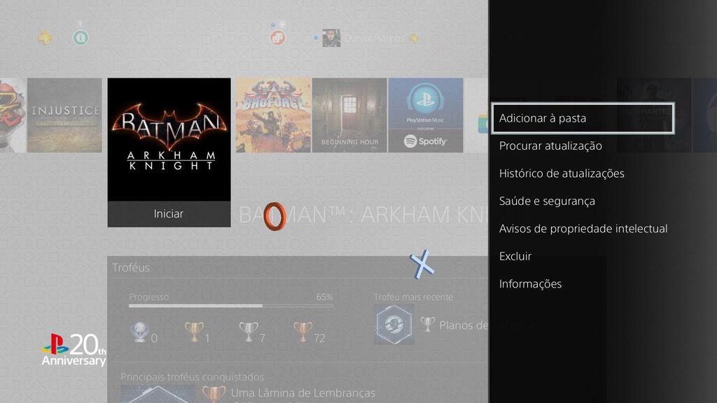 Pastas PS4