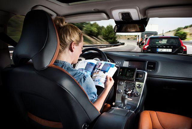 Carro autônomo Volvo