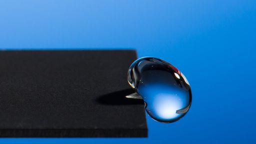 No futuro, as telas da Samsung poderão repelir água