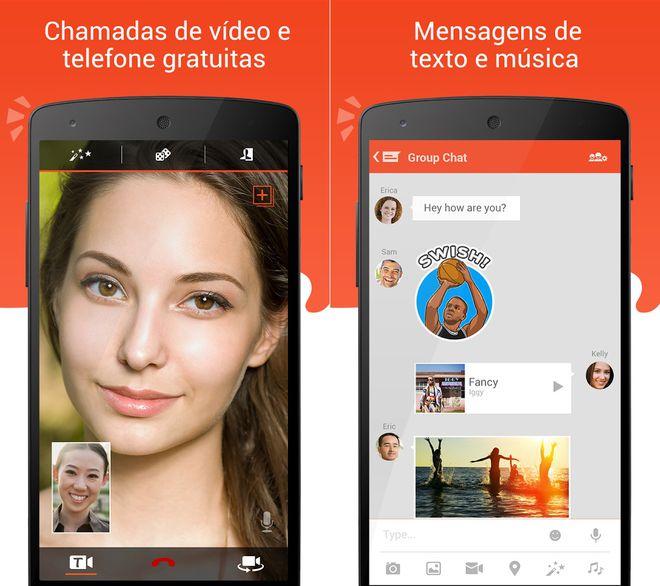 Videochamada no Android