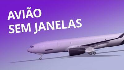 O avião modular e sem janelas [CT Inovação]