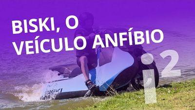 Biski, veículo anfíbio que mistura moto e jet ski [Inovação ²]