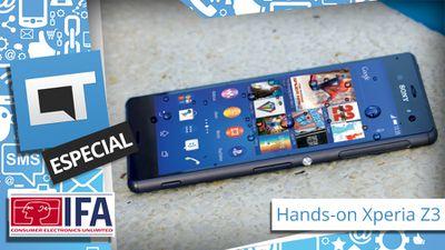 IFA 2014: experimentamos o Sony Xperia Z3