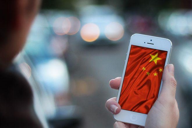 Smartphones na China