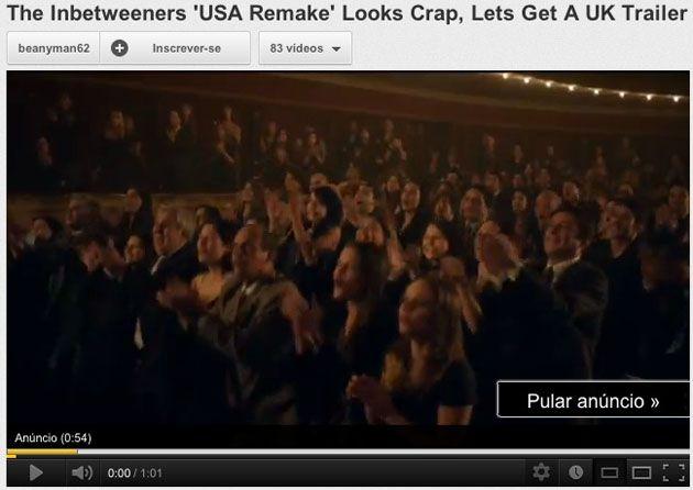 Video com anuncio