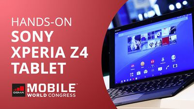Sony Xperia Z4 Tablet [Hands-on | MWC 2015]