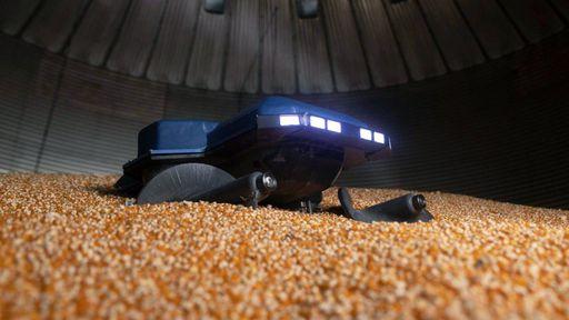 Estudantes criam robô para evitar que fazendeiros morram soterrados por grãos
