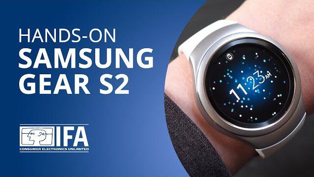 3689a7ab9e6df Samsung Gear S2  o novo smartwatch da Samsung  Hands-on   IFA 2015  -  Vídeos - Canaltech
