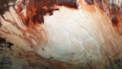 Marte pode ter dezenas de lagos subterrâneos no polo sul, aponta estudo