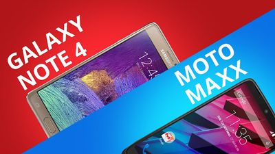 Galaxy Note 4 VS Moto Maxx [Comparativo]
