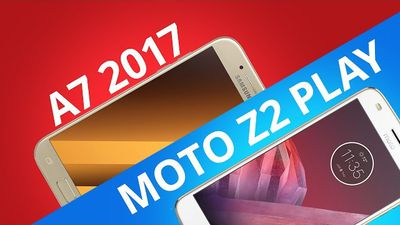 Samsung Galaxy A7 2017 vs Motorola Moto Z2 Play