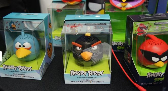 Mini speaker Agry Birds