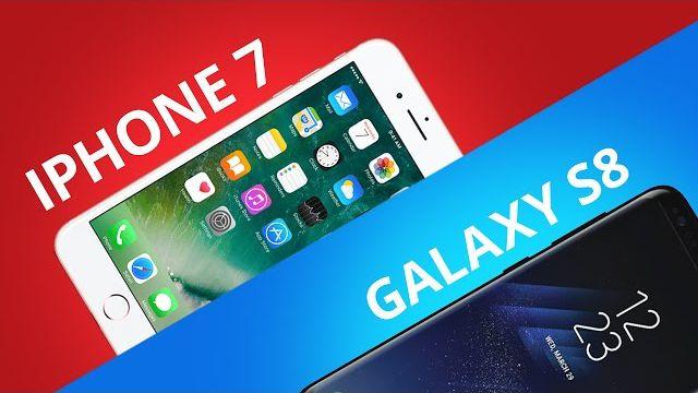36a34ea35 Samsung Galaxy S8 vs iPhone 7  Comparativo  - Vídeos - Canaltech