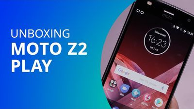 Moto Z2 Play [Unboxing] - Canaltech