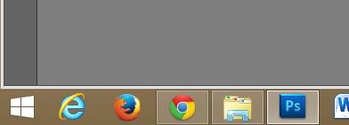 Para abrir o Chrome, por exemplo, basta pressionar as teclas
