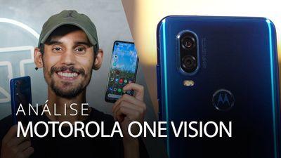 MOTO ONE VISION: tela de cinema e câmeras para o escuro [Análise / Review]