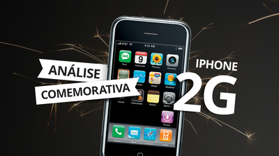 iPhone 2G: analisamos o primeiro modelo do iPhone!