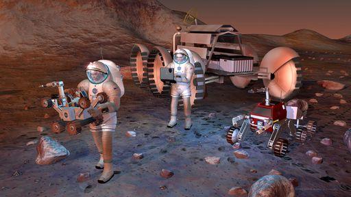 A década de 2020 terá como destaque a exploração de Marte