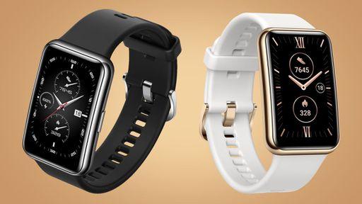 Novo Huawei Watch Fit é anunciado com moldura de aço e até 12 dias de bateria