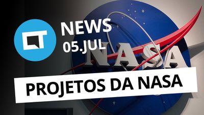Novos projetos da NASA; Gastos com Bitcoin e + [CT News]