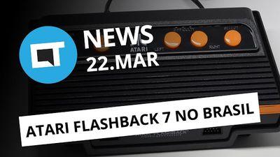 Novas imagens do Galaxy S8 Plus; Tectoy lança Atari Flashback 7 e + [CTNews]