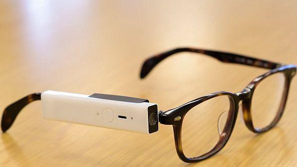 Óculos com câmera tira fotos com piscar dos olhos - Câmera 8781acf725