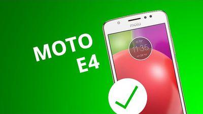 5 motivos para você COMPRAR o Moto E4
