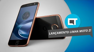 Moto Z Play no Brasil: veja tudo sobre o aparelho por aqui [Evento Lenovo/Motoro