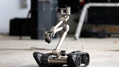 Robôs policiais lutam contra o tráfico de drogas no Rio de Janeiro